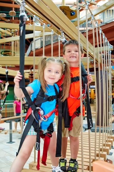 Sky Tykes Ropes Course