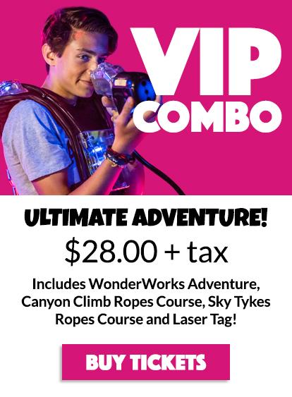 WonderWorks Syracuse Tickets