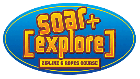 Laser Tag Myrtle Beach START SOARING Soar Explore Logo