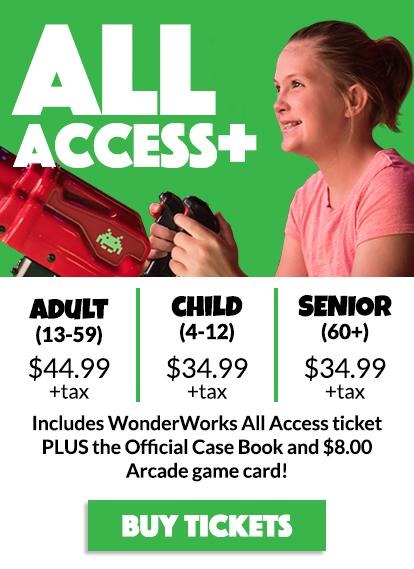 WonderWorks Orlando Tickets