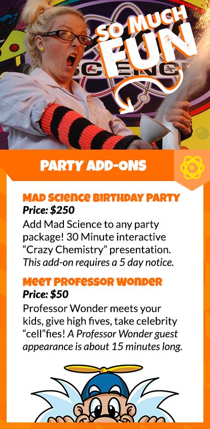 Birthday Parties Orlando