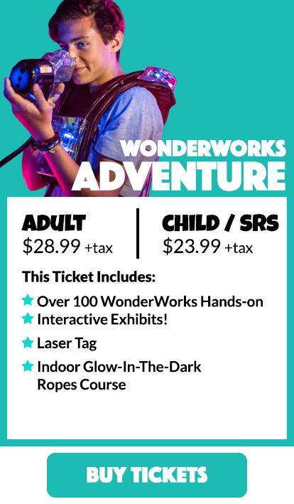 Panama City Beach WonderWorks Tickets