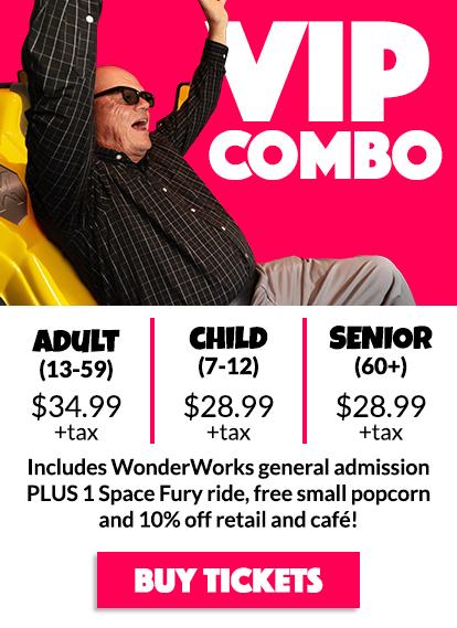 WonderWorks Panama City Beach Tickets